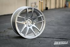 19x8.5 19x9.5 Inch +30/22 ESR Sr08 5x114.3 Machined Silver Wheels Rims 350z G35