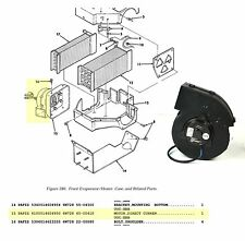 HUMVEE M1152 M1114 M1113 HUMMER 24 V Heater Blower Fan Motor  P/N: 40-00410