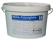 5kg Dichtfolie Flüssigfolie Streichfolie Flüssig Abdichtung Bad Dusche Sanitär