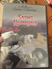 The Snows of Kilimanjaro (DVD, 1999) sealed B&W