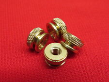 NEW Ford Model A spark plug knurl nuts brass (for original plugs)   A11A