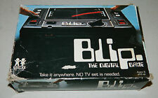 BLIP The Digital Game TOMY 1977 handheld video game W/ BOX
