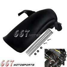 Rear Tire Hugger Splash Guard Black Fender For BMW F650GS F700GS F800GS F800 GS