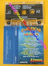 MC EMOZIONI IN MUSICA E'l'amore BATTIATO BATTISTI DALLA CUTUGNO no cd lp dvd vhs