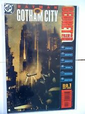 DC COMICS BATMAN GOTHAM CITY SECRET FILES # 1 APR 2000