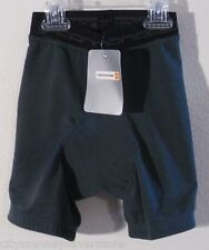 NWT Cannondale Womens Padded Inner Cycling Shorts Petite Grey MSRP$35