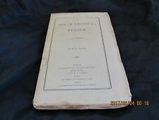 Antique-The North American Review-July 1834-Maria Edgeworth-1800s-1830s-Vintage