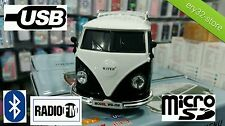 Bluetooth altavoces modelo vw t1 matrícula mp3 USB radio Volkswagen Bus