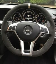 Mercedes Benz C Class Steering Wheel Upgrade W204 FACELIFT AMG C63 2011   2014