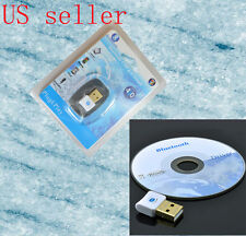Version V4.0 USB Bluetooth Dongle Wireless Adapter EDR for PC Windows 7 Vista XP