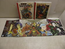 EXALTED STORYTELLER'S COMPANION DM SCREEN & THE BOOK OF 3 CIRCLES MIXED BOOK LOT