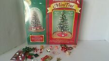 Westrim Beaded Mini Pre-Assembled Christmas Tree Kit & Assorted Decorations
