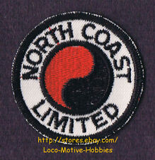 LMH PATCH Badge  NORTH COAST LIMITED Passenger Train  NORTHERN PACIFIC NP Ry  2""