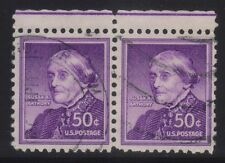 [JSC]1954 USA Liberty Series Susan B. Anthony 50c US Postage x 2
