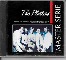 CD COMPIL 24 TITRES--THE PLATTERS--MASTER SERIE