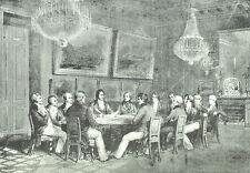 Duc d'orléans Proclamation Lieutenance 1830 - Gravure XIXème