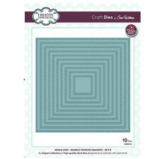 Craft Die CED5510 Sue Wilson Noble Collection - Double Pierced Squares Set B