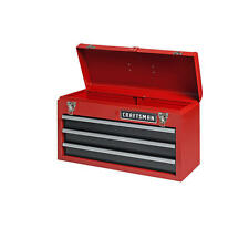 CRAFTSMAN  3 Drawer Portable Tool Box in Red  FREE SHIPPING BRAND NEW