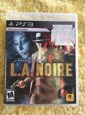 L.A. Noire Playstation 3 PS3 Rockstar Games