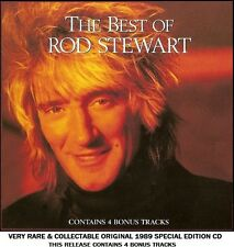 Rod Stewart - The Very Best Greatest Hits Collection RARE 1989 CD 80's 90's