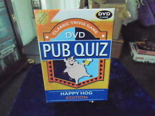 DVD Pub Quiz Classic Trivia Game Happy Hog Edition Boxed with Pencils,Pad etc