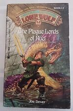 The Plague Lords of Ruel ***VGC US VERSION!!*** Joe Dever Lone Wolf