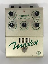 Maxon ROD 880 Real Overdrive Tube Power Guitar Effect Pedal Made In Japan