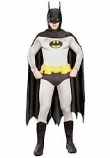 BATMAN GRAND HERITAGE ADULT COSTUME SIZE LARGE RUBIES