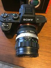 Sony Alpha a7 II 24.3 MP Digital SLR Camera - Black (Includes Minolta lens  )