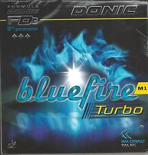 Donic Bluefire M1 Turbo Rubber (Black, 1.8 MM)