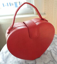 Bijou Red Heart Shaped Evening Bag
