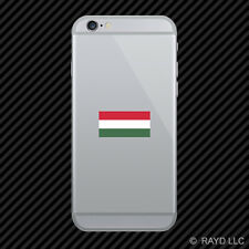 Hungarian Flag Cell Phone Sticker Mobile Hungary HUN