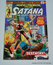 Marvel Premiere 27 Comic Book 1975 VF 1st appearance Satana