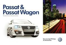 2010 10 VW Passat & Wagon Accessories oiginal  brochure