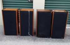 4 Satterberg MW-2 Subwoofers Speakers for Rogers LS3/5A - Watch Video