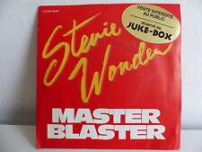 STEVIE WONDER Master blaster Etiquette JUKE BOX 2C008 64076