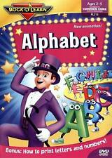 Rock N Learn: Alphabet, Good DVD, Jeane July, Brad Caudle, Richard Caudle