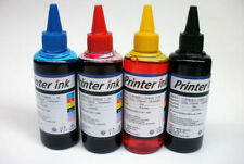 4 x 100ml INK FOR HP EPSON BROTHER CANON LEXMARK PRINTER REFILL BOTTLE INK CISS