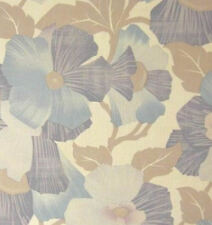 Flowers In The Wind 1970s Vintage Original Retro Mod Wallpaper 1970s 1960s