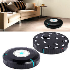Black Microfiber Mop Smart Auto Robot Cleaner Dust Cleaning Household Robotic