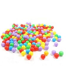 100pcs 7cm Colorful Soft Plastic Ocean Ball Baby Kid Fun Swim Pit Toy