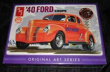 2013 AMT #850 1940 FORD COUPE ORIGINAL ART SERIES car kit molded in orange new