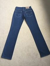 Womens Levis 10528 Stretch Straight Jeans W26 L34 BNWOT (285)
