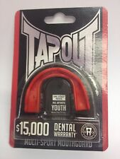New Tapout Mouthguard Youth Red 5 to 11 Yrs Red A632