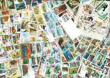 PROMOTION 1000 TIMBRES THEMATIQUE  TOUS DIFFERENTS : 4 PAQUETS DE 250 TIMBRES