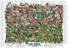 Rugby Mishmash - The History of Rugby Union in One Image Poster
