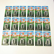 18 NEW EXHAUST WHISTLES MUFFLER TAILPIPE TRICK WHISTLE AUTO CAR JOKE GAG GIFT