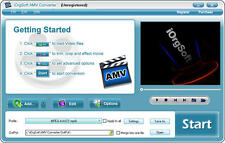 iOrgsoft AMV Video Converter, (AVI MP4 VOB MOV 3GP..etc.) to AMV & vice versa
