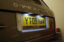 RANGE ROVER Vogue L322 XENON WHITE LED Number Plate Lights Bulbs Error Free 39m