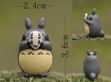 Unverwechselbar My Neighbor Totoro Holding No Face Maske Harz Figur Mini Puppe
